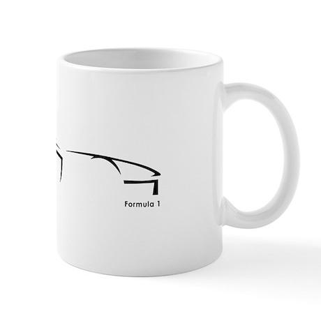 Formula 1 Black Mug