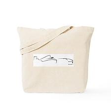 Formula 1 Black Tote Bag