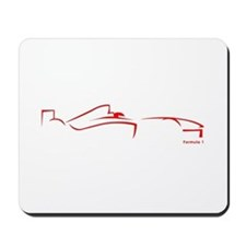 Formula 1 Red Mousepad