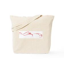 Formula 1 Red Tote Bag
