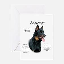 Beauceron Greeting Card