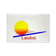 Landon Rectangle Magnet