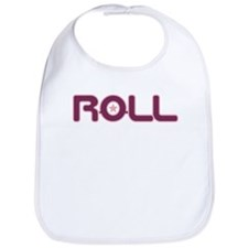 Twin Girls Rock n Roll Bib-Roll