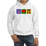 Peace pi love Hooded Sweatshirt