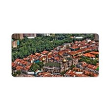 View of Sultan Mosque Aluminum License Plate