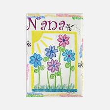 Nana Rectangle Magnet