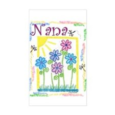 Nana Rectangle Decal