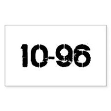 10-96 Rectangle Decal