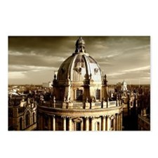 Radcliffe Camera view fro Postcards (Package of 8)
