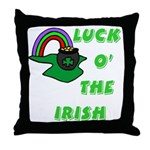 Luck O' the Irish Throw Pillow