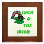Luck O' the Irish Framed Tile
