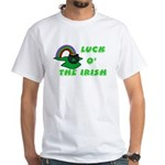 Luck O' the Irish White T-Shirt