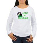 Luck O' the Irish Women's Long Sleeve T-Shirt