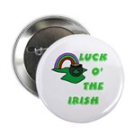 Luck O' the Irish Button