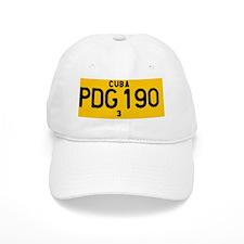Pinar del Rio Car Number Plate Baseball Cap