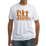 Chicken Dance Fitted T-Shirt