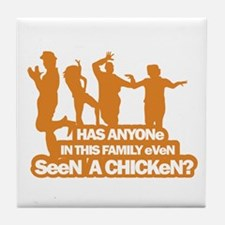 Chicken Dance Tile Coaster