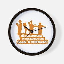 Chicken Dance Wall Clock