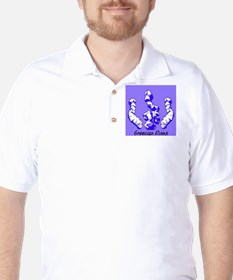 Greecian Ruins Golf Shirt