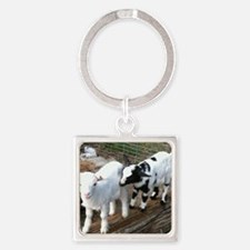 kids at play Square Keychain