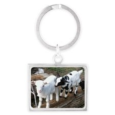 kids at play Landscape Keychain
