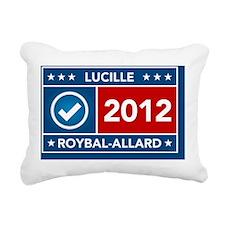 Lucille Roybal-Alllard Rectangular Canvas Pillow