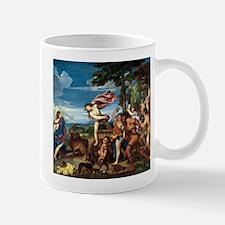 Bacchus and Ariadne - Titian - c1520 Mugs