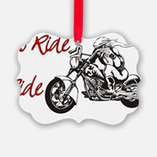 To Ride Ornament