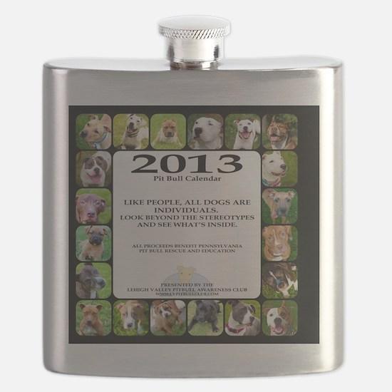PIT BULL CALENDAR Flask