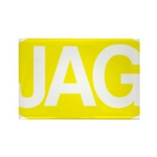 jag1 yllw for rd Rectangle Magnet