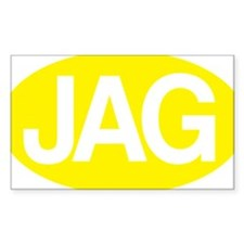 jag1 yllw for rd Decal