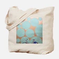 Home from the Evening Ride Tote Bag