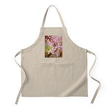 Pink Cherry Blossoms HR Apron