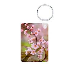 Pink Cherry Blossoms HR Keychains