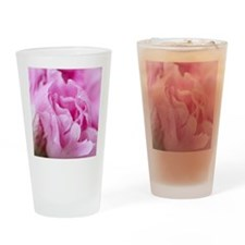 Pink Peony HR Drinking Glass