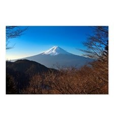 Mount Fuji taken from hil Postcards (Package of 8)