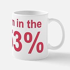 Im in the 53% Mug