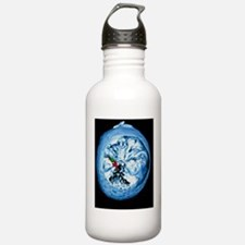 Coloured 3-D MRI scan  Sports Water Bottle
