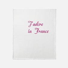 france3 Throw Blanket