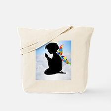 Autism Angel Tote Bag
