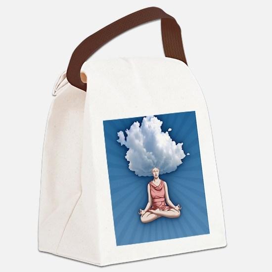 cloud-head-CRD Canvas Lunch Bag