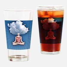cloud-head-CRD Drinking Glass