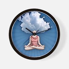 cloud-head-CRD Wall Clock