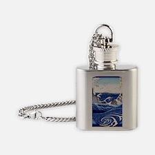 Naruto Whirlpools-Awa Ukiyo-e style Flask Necklace
