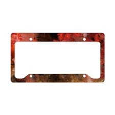 Pearl toby fish License Plate Holder