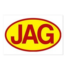 Jag 3 Postcards (Package of 8)