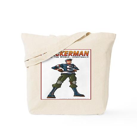 Slackerman Tote Bag
