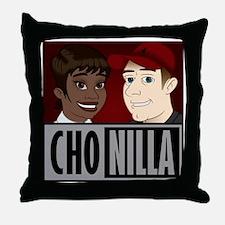 Chonilla (Cho  Nilla) Throw Pillow