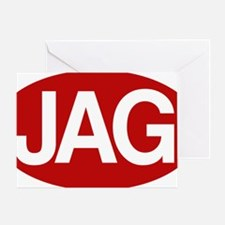 Jag1 rd for yllw Greeting Card