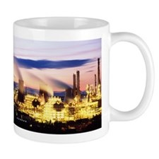 Petrochemical plant Mug